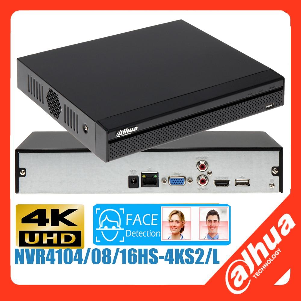 متعدد اللغات داهوا AI NVR NVR4108hs-4KS2/L NVR4104hs-4KS2/L NVR4116hs-4KS2/L 4K H.265 AI وجه شبكة مسجل فيديو