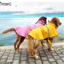 Grand imperméable imperméable pour chien   Grande veste imperméable, coupe-vent, vêtements dextérieur pour animaux de compagnie, manteau de chien, grande veste