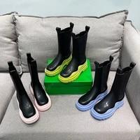 new winter womens bootsplatform boots female shoeschelsea boots women ankle boots chunky winter shoesdesigner botas de mujer