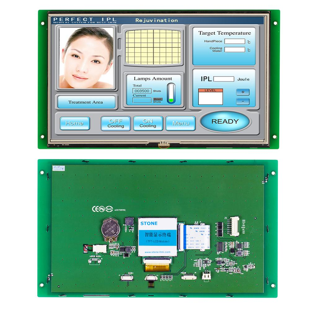 10.1 HMI Smart LCD Display Module with Program + Touch Screen for Equipment Control Panel STVC101WT01