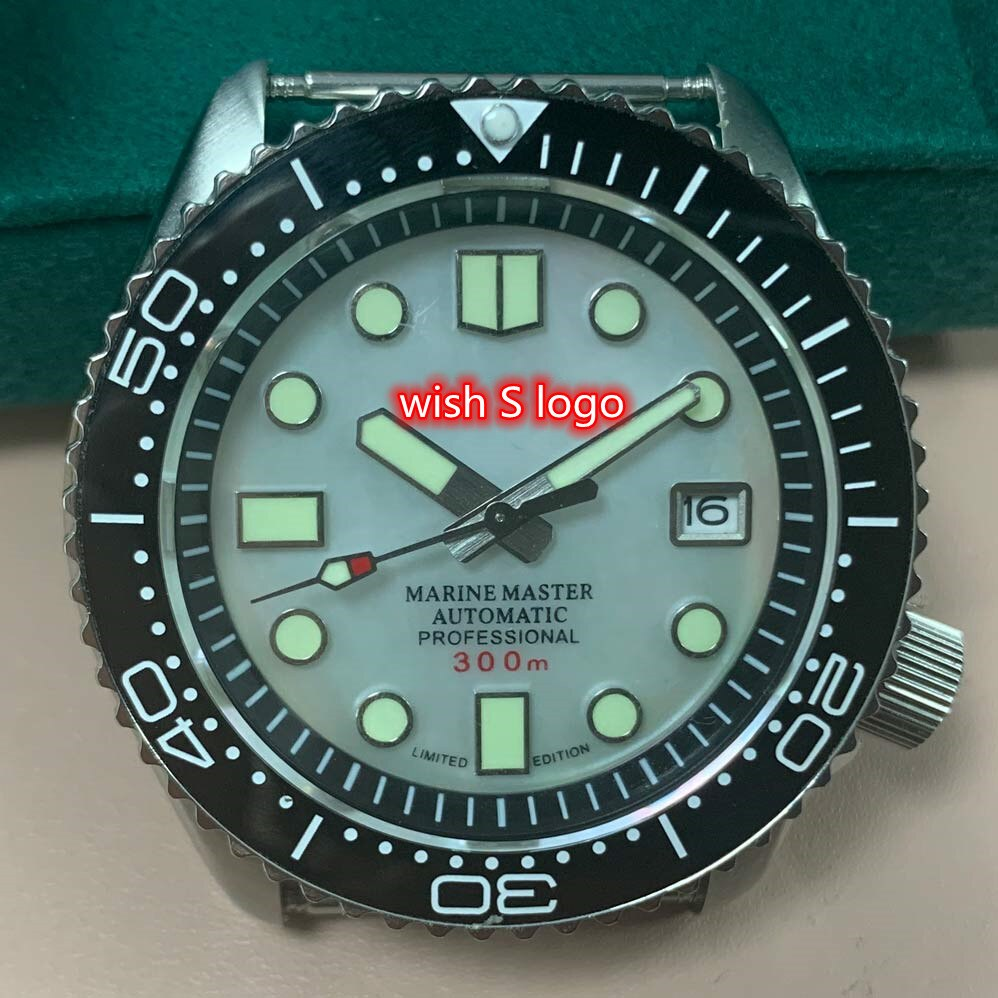 Watch Applicable To Shell Dial Strong Luminous SKX007 Case NH35 Movement