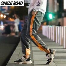 SingleRoad männer Harem Hosen Hip Hop Japanischen Streetwear Cargo Hosen Männer Seite Gestreiften Hosen Jogger Männlich Jogginghose Hosen Mann
