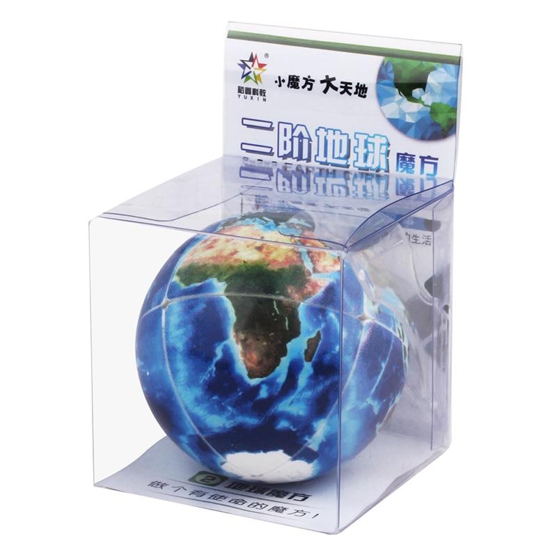 yuxin terra 2x2 cubo magico quebra cabeca profissional uv impressao cubo magico novidade