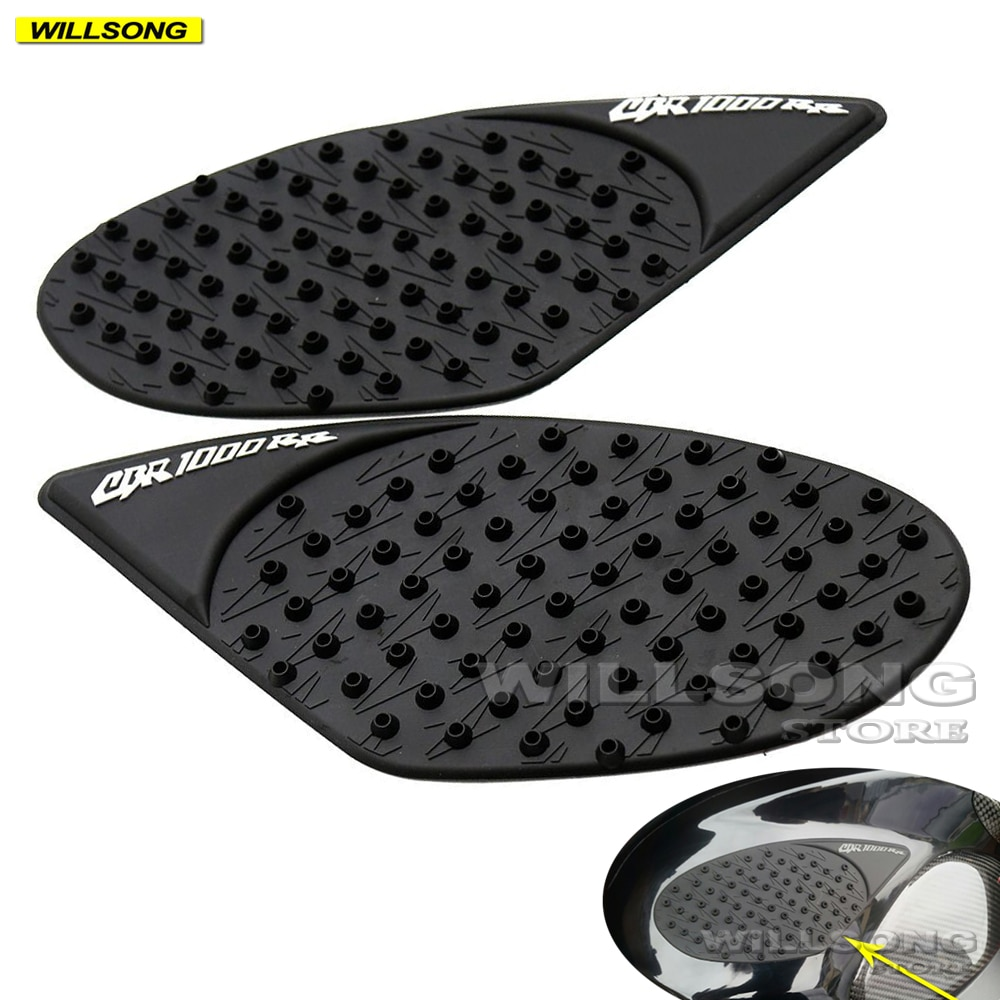 Anti Slip Sticker Tank Pad Side Knee Grip Protector For HONDA CBR1000RR 2008-2013 Year Motorcycle Accessories