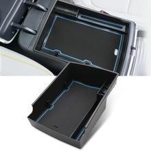 RUIYA ящик для хранения в подлокотнике автомобиля для Kona Elektro/Kona EV 2020 центральный контейнер для управления транспортным средством аксессуары для салона автомобиля