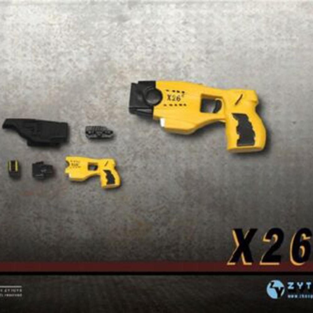 ZYTOYS 1/6 масштаб X26 тазер пистолет оружие солдат фигурка игрушка ZY2009E модель подходит 12