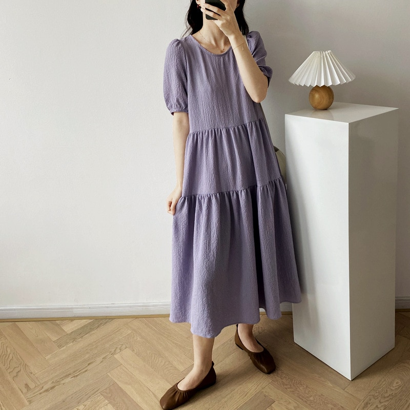 Новинка 2020, летние женские длинные платья, женские модные однотонные платья, модные платья #8115