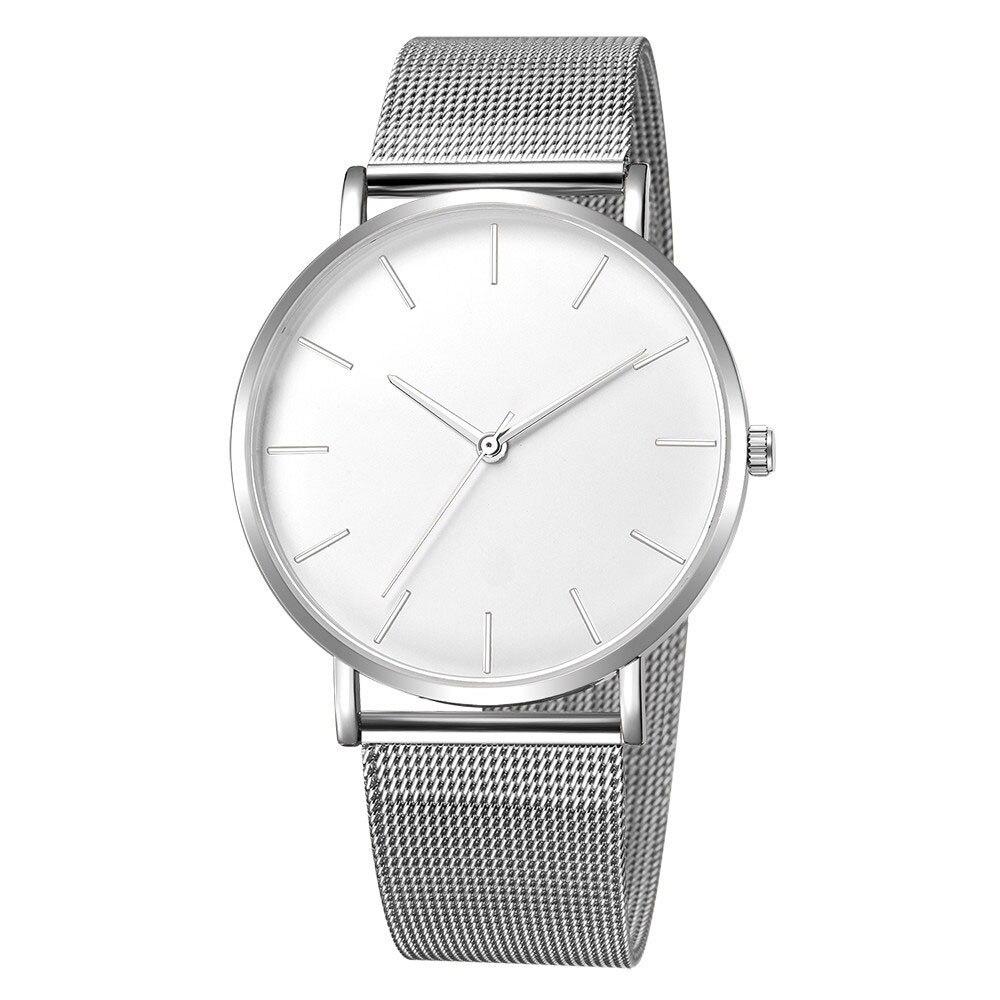 Women Watch Rose Gold Montre Femme 2021 Women's Mesh Belt ultra-thin Fashion relojes para mujer Luxury Wrist Watches reloj mujer enlarge
