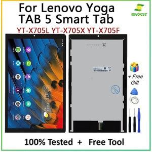 AMOLED LCD Screen For Lenovo YOGA TAB 5 Smart Tab PRC WOR YT-X705L YT-X705X YT-X705F LCD With Touch Screen Digitizer Assembly