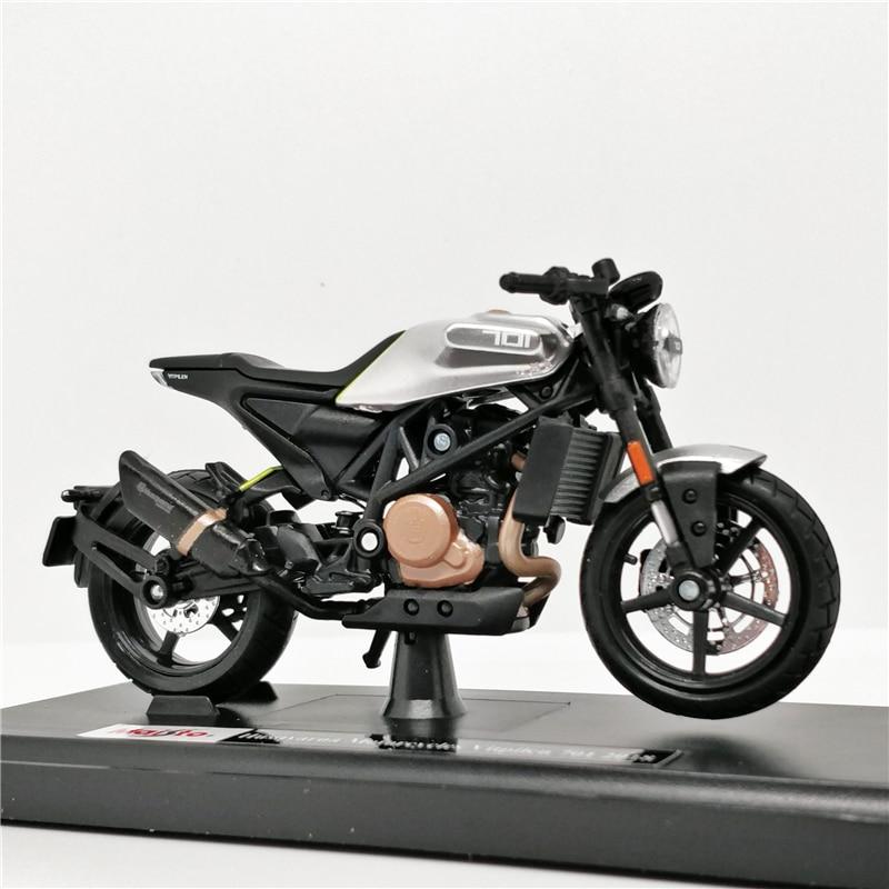 Mai sto 118 Husqvarna Vitpilen 701 2018 boutique alloy Motorcycle car toys for children kids toys Model gift