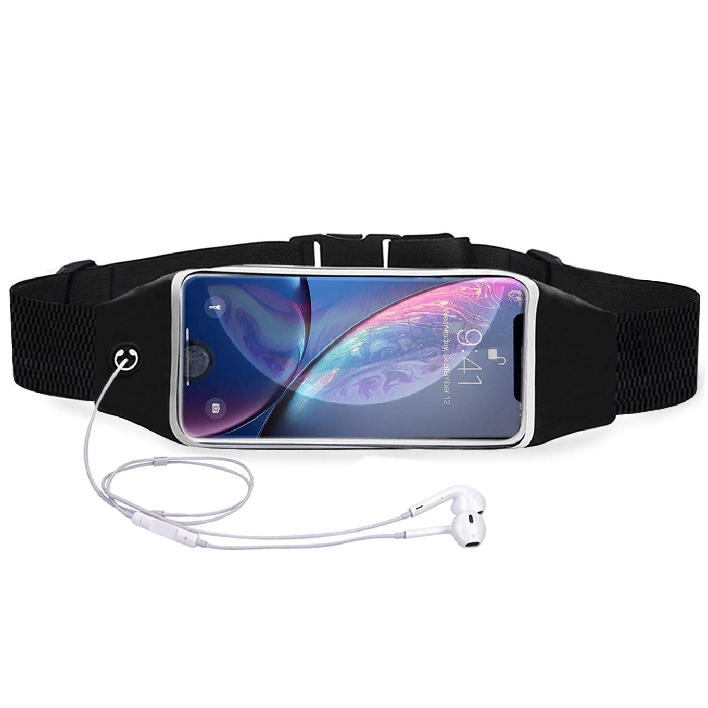 Поясная Сумка для бега, сумка для тренажерного зала, ремень для бега, женский водонепроницаемый держатель для телефона 6,2 дюйма, спортивный ...