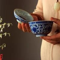 %e2%98%85cover bowl single imitation classic sancai tea cup large and medium sized hand painted jingdezhen ceramic kung fu ware