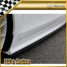 Carbon Fiber Side Skirt Voor Audi Tt MK2 (Type 8J) side Rok Extension Trim Voor MK2 Tt Auto Styling