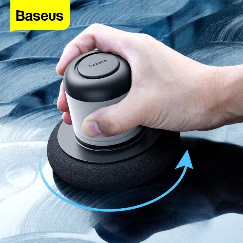 Baseus полировщик для автомобиля, ремонт царапин, автоматическая полировальная машина, уход за краской, чистая полировка, шлифовальный станок для автомобиля, инструменты для полировки воска, автомобильные аксессуары
