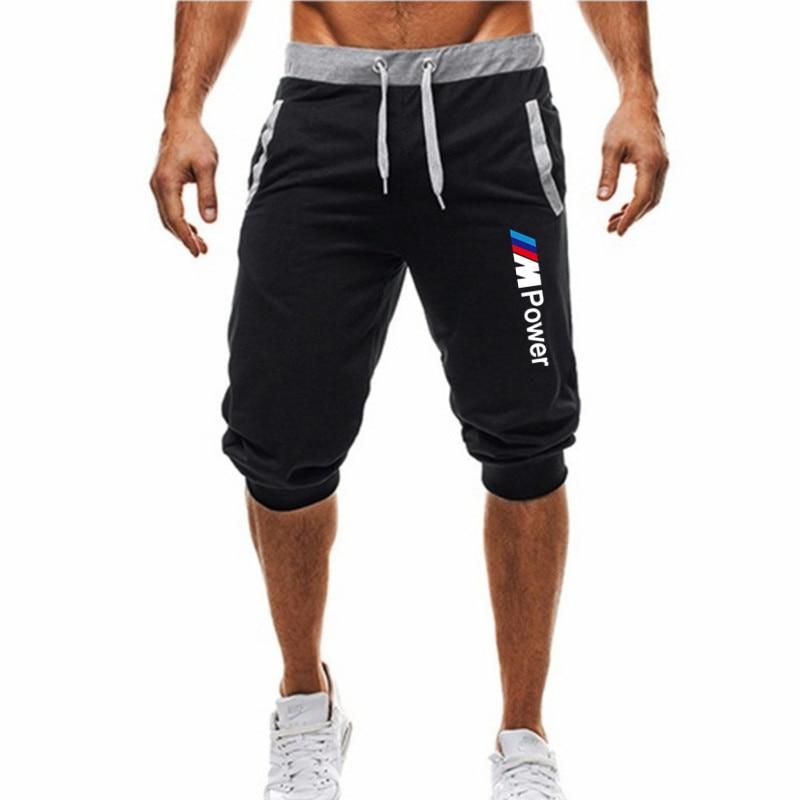 Шорты мужские летние из 2021 хлопка, повседневные Бермуды, мужские бордшорты, классические брендовые шорты с принтом