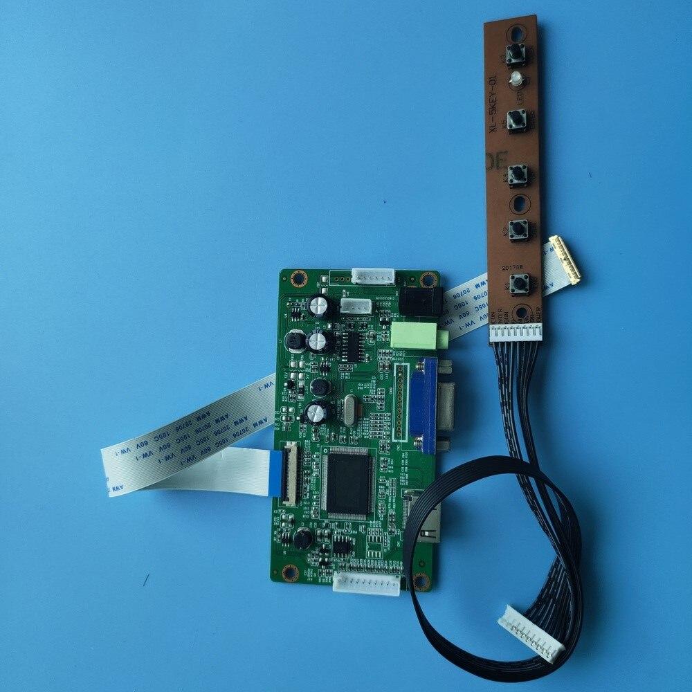 كيت ل N156HCA-EBA/N156HCA-E5A VGA تحكم DIY EDP LED مجلس مراقبة عرض LCD 1920X1080 30pin HDMI سائق شاشة 15.6