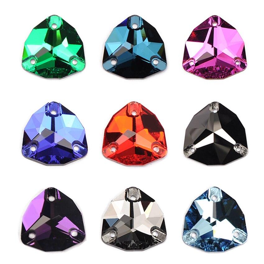 YANRUO 3272 Trilliant cousu pierres paillettes Strass bricolage couture cristaux plat dos verre Strass pour vêtements robe faisant