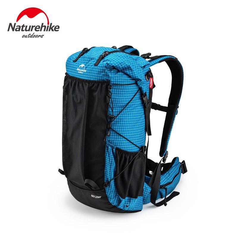 Naturehike Molle Backpack Large Capacity Climbing Backpack Camping Hiking Backpack Ultralight Travel Bag Shoulder Bag