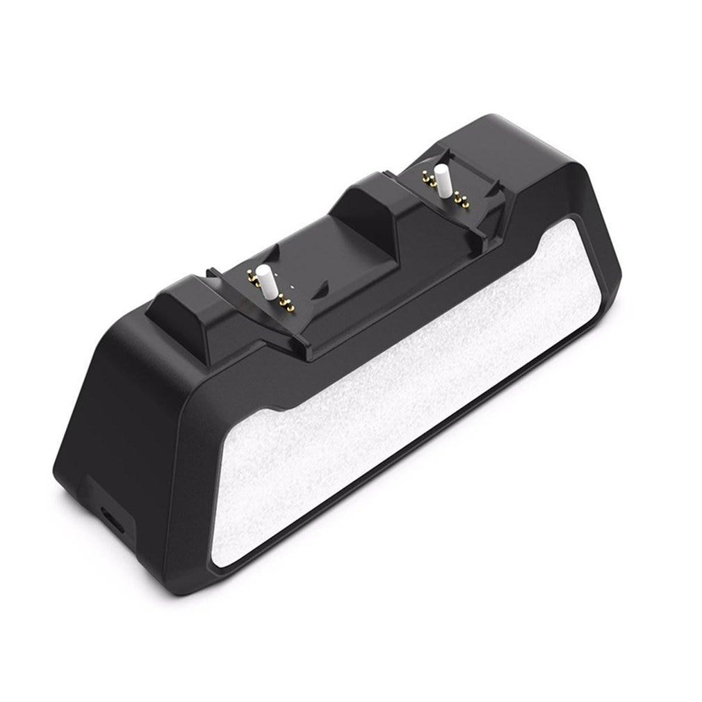 Двойное быстрое зарядное устройство для беспроводного контроллера USB Type-C, зарядная док-станция, джойстик, зарядное устройство для геймпада