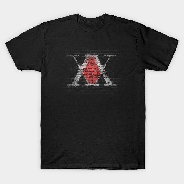 Hombres camiseta HunterXHunter símbolo camiseta mujer camiseta