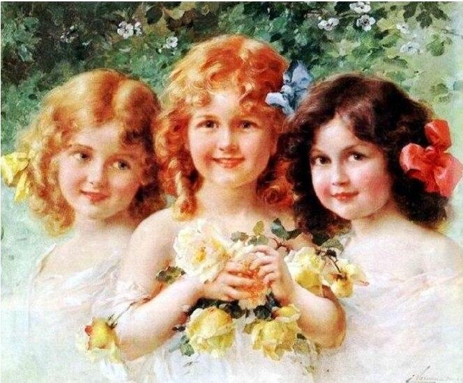 Набор для вышивки крестиком «Три сестры»