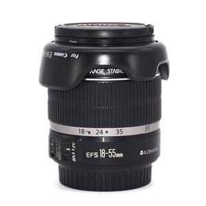 Б/у Объективы для камер Canon, Объективы для зеркальных фотокамер, 18-55 мм, f/3,5-5,6 IS