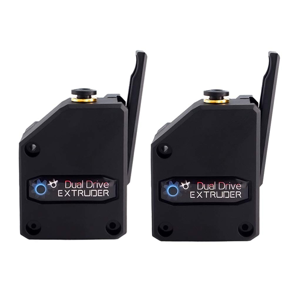 2PCS 3D Printer Extruder Dual Drive BMG Cloned Bowden Accessories 1.75mm Filament Universal Dual Drive Extruder For 3d printer sovol sv02 3d printer with all metal dual extruder silent mainboards tmc2208 drive meanwell power supply 4 3 inch touchscreen 240 x 280 x 300 mm