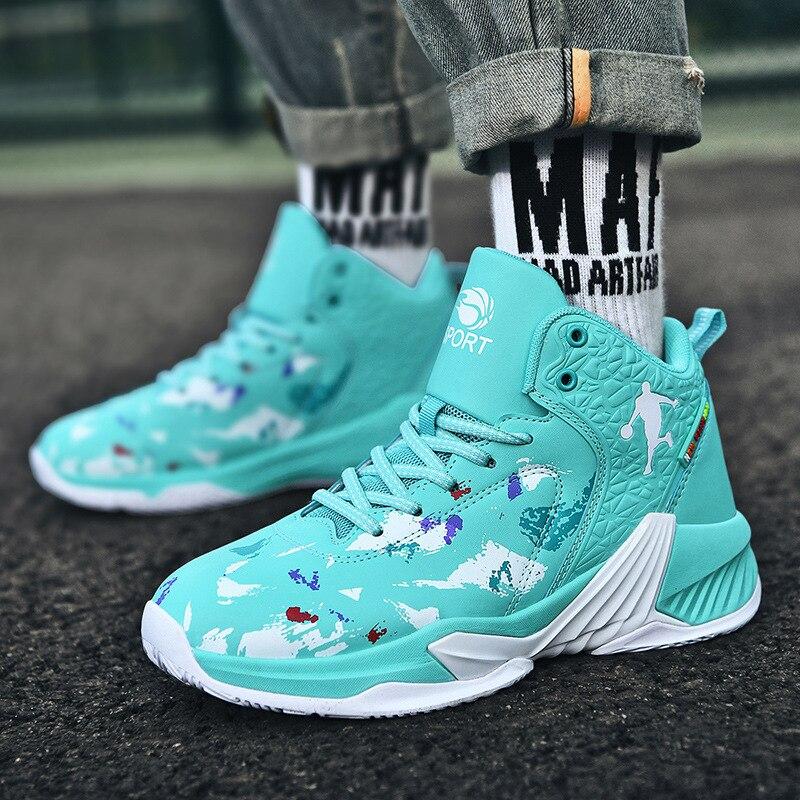Zapatillas de baloncesto Jordan para hombre, botines antideslizantes para deportes al aire...