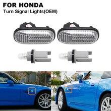 2PCS 5W Klare OEM Seite Marker Blinker Lampe Für HONDA S2000 Accord Civic Prelude 1985-2001 CRX 1988-1991 Fit 2007-2010