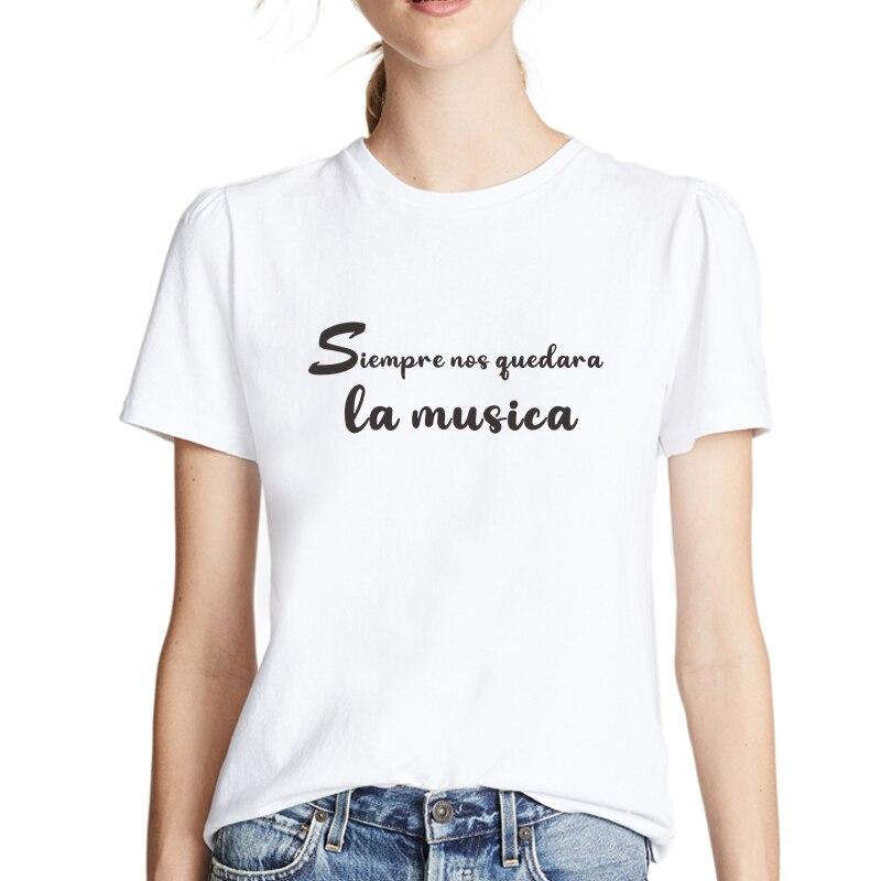 De moda Camiseta femenina mujer de manga corta Camisetas mujer ropa de...
