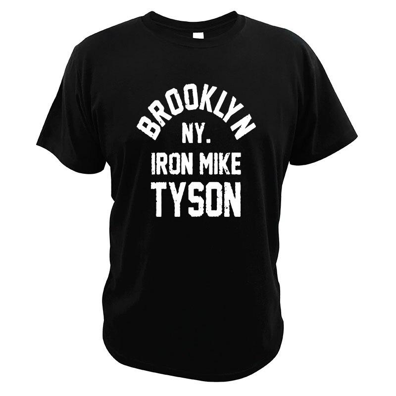 Camiseta de Brooklyn-Nueva York-hierro Tyson ropa de boxeo para el Summer ropa...