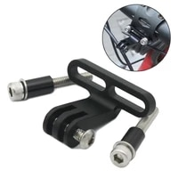 bike bicycle cycling bicycle parts bicycle stem sportscycle computers camera widen holder mount for gopr0 base aluminum alloy