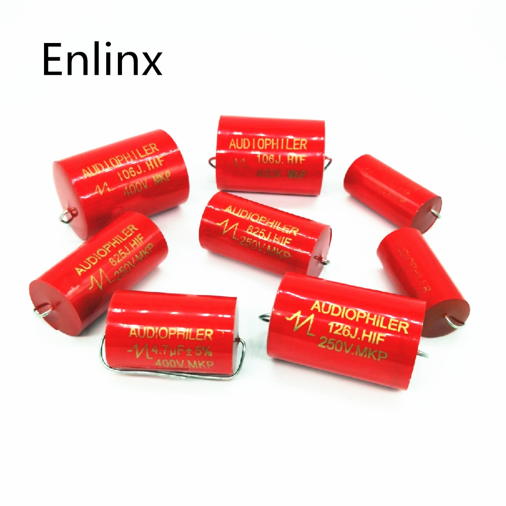 2 ~ 6 stücke Audiophiler Axial MKP 250v 1uf 1,5 uf 1,8 uf 2,2 uf 2,7 uf 3uf 3,3 uf 4uf 4,7 uf 5,6 uf DC HIFI DIY Audio non-polar Kondensator