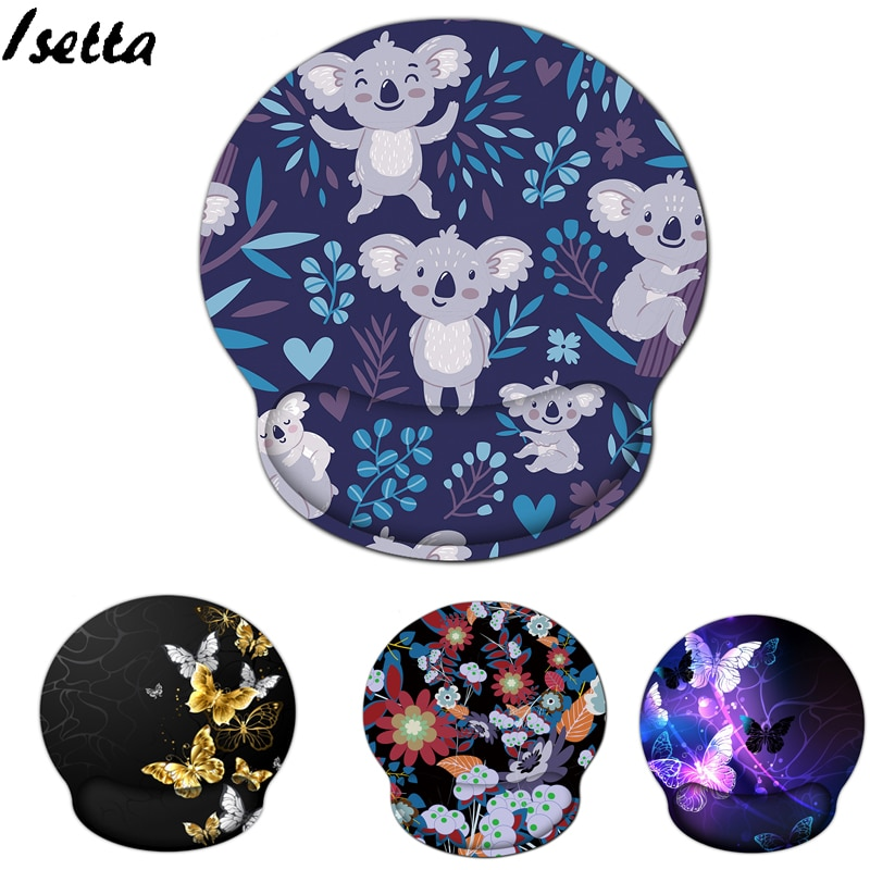 mouse pads 3d with wrist rest support mouse pad silicone gel hand pu anti slip hand pillow memory cotton gaming mouse pad mat Mouse Pads  With Wrist Rest  Mouse Pad Anti-slip Hand  Gaming Mouse Pad Mat for  Laptop Computer