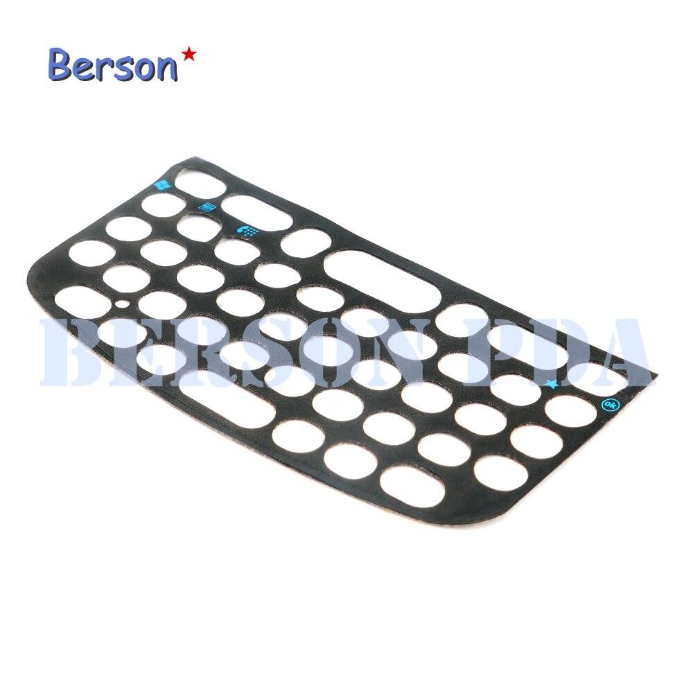 10 pçs teclado overlay capa de plástico (qwerty) para motorola symbol mc75a0 mc75a6 mc75a8