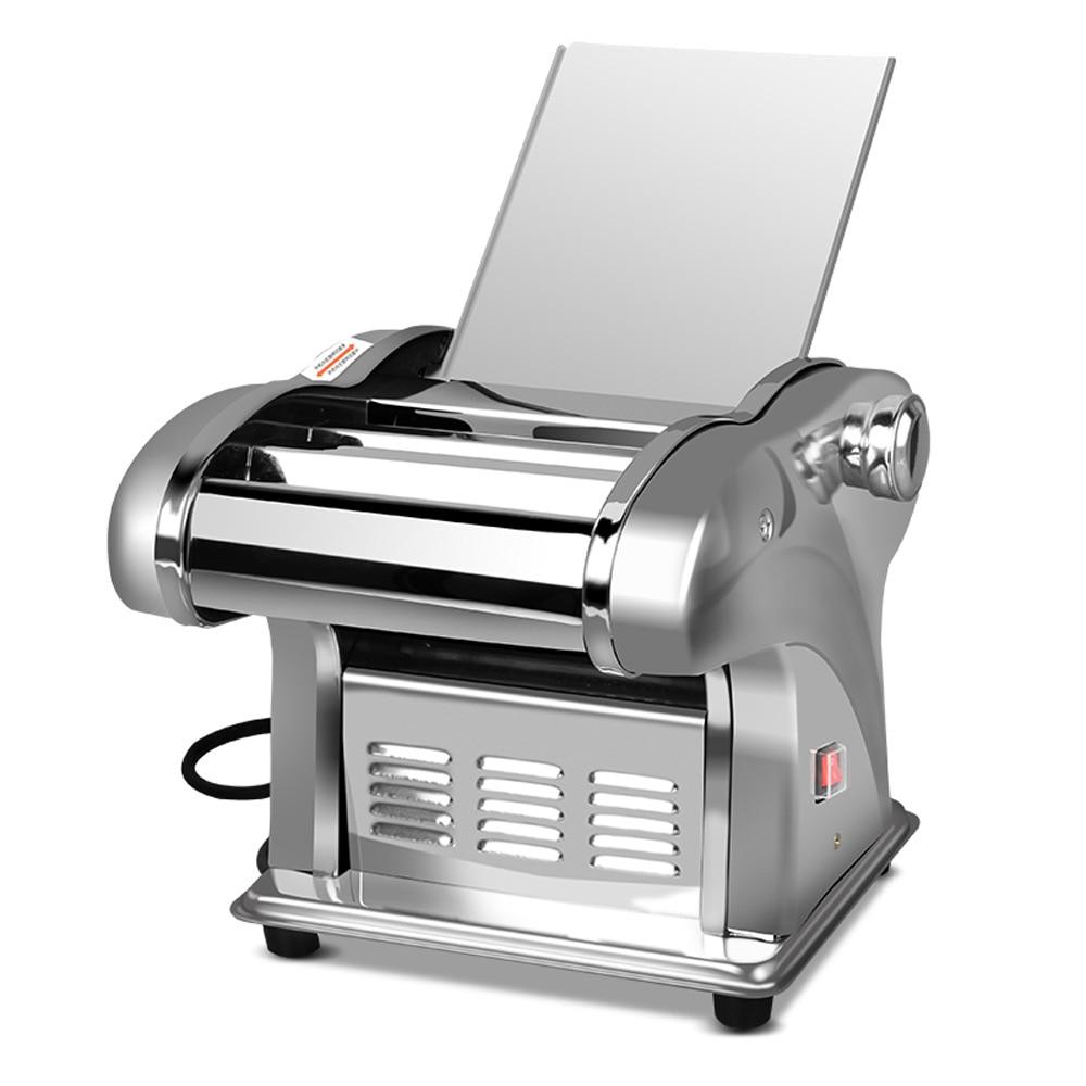 المعكرونة آلة الضغط التلقائي الكهربائية المنزلية الصغيرة ماكينة تصنيع المعكرونة المعكرونة القاطع زلابية الجلد المتداول سطح آلة 220 فولت