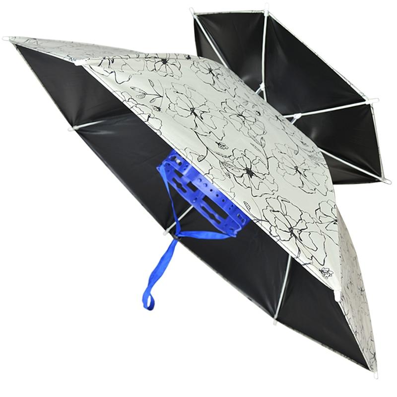 Paraguas de doble cabeza a prueba de viento, sombrilla pequeña de Playa, Picnic, Sol UV para exteriores, equipo de lluvia Plegable, BE50WC