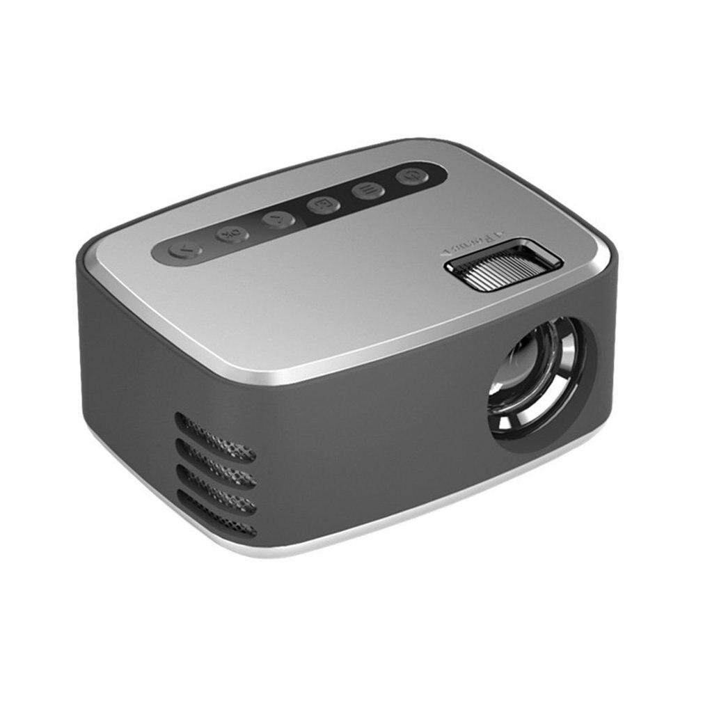 LED جهاز عرض صغير 320x240 بكسل يدعم 1080P HDMI متوافق USB الصوت المحمولة الرئيسية ميديا مشغل فيديو المسرح المنزلي