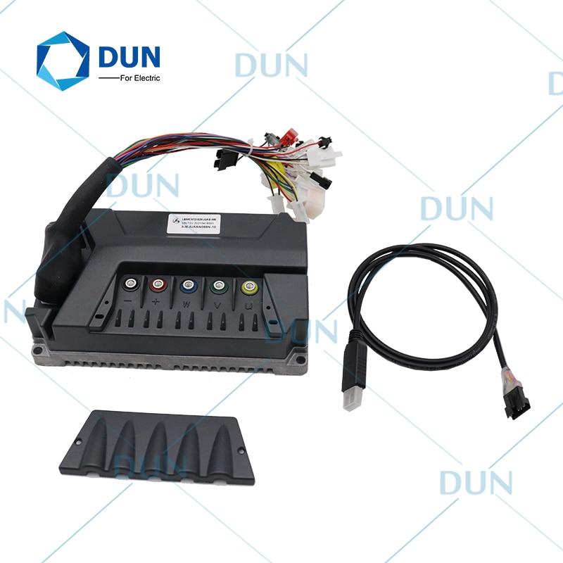 LingBo LBMC72252 HJ5AP V5 EMC 48 فولت-72 فولت 100A الذروة 280A 200 واط 2500 واط شرط موجة فرش جهاز تحكم في محرك التيار المستمر ل E-سكوتر دراجة نارية