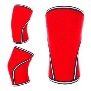 (1 Pair) Support & Compression  Weightlifting, Powerlifting & Cross Training - 7mm Neoprene  Best Squats - Knee Sleeves