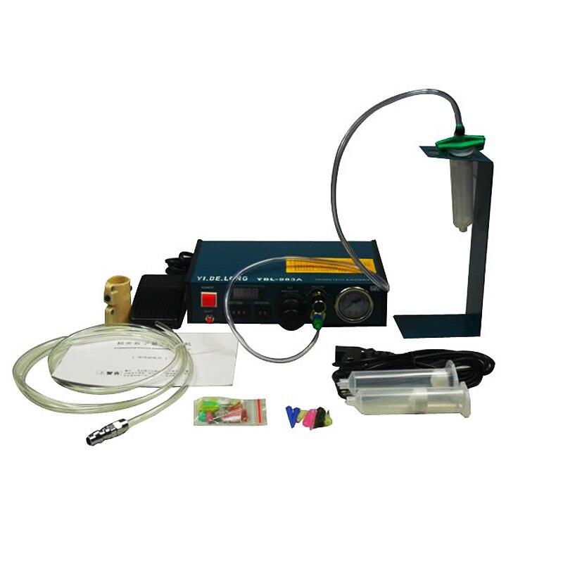 220 v auto cola dispenser pasta de solda líquido controlador conta-gotas dispensador fluido YDL-983A