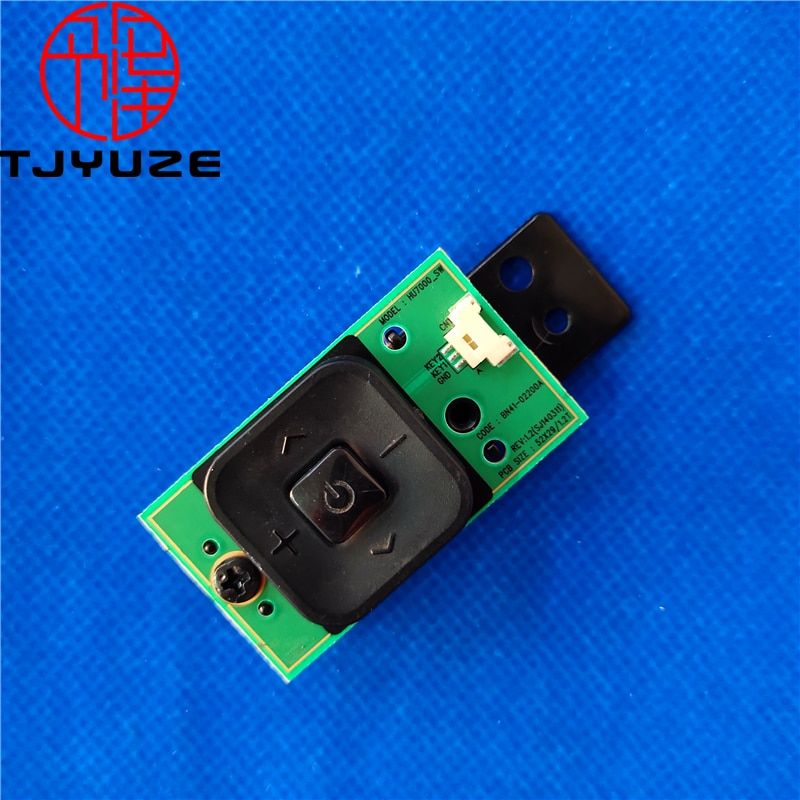 Original for Samsung BN41-02200A HU7000_SW BN96-32172A UN50HU6900F UN55HU6840F UN55HU6830F Power Button Switch Board Supply good working original quality for se360 390 bn96 35417c bn41 02313a key switch control board for t24e390ew used and test