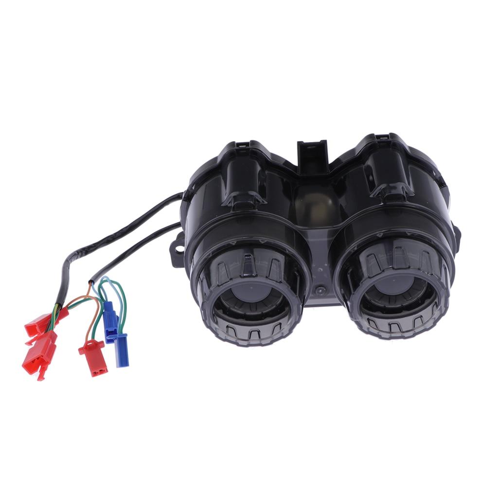 Luz de señales de giro traseras de lente de humo MagiDeal para YAMAHA Zuma BWS 125 YW125