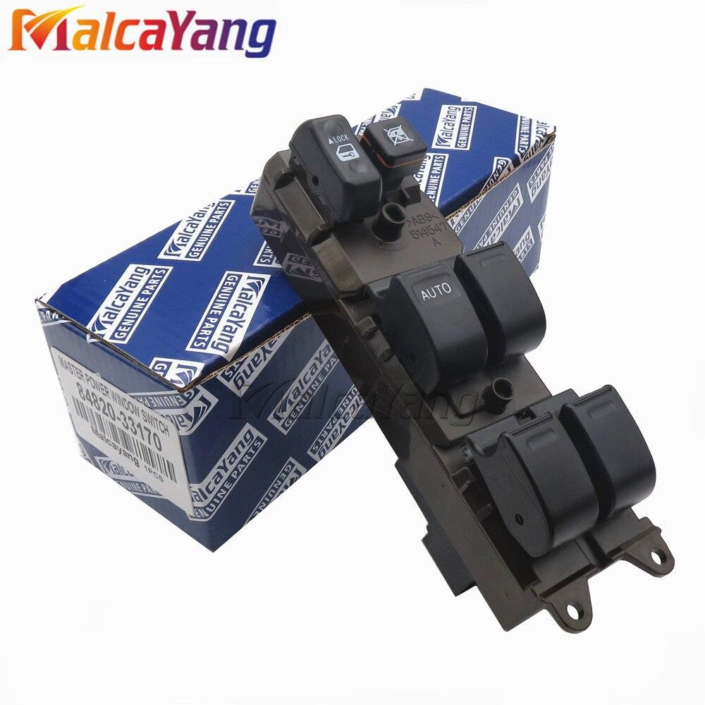 84820-33170 frente LH eléctrico interruptor principal de ventana eléctrica para Toyota Camry Land Cruiser Prado Scion XB 8482033170