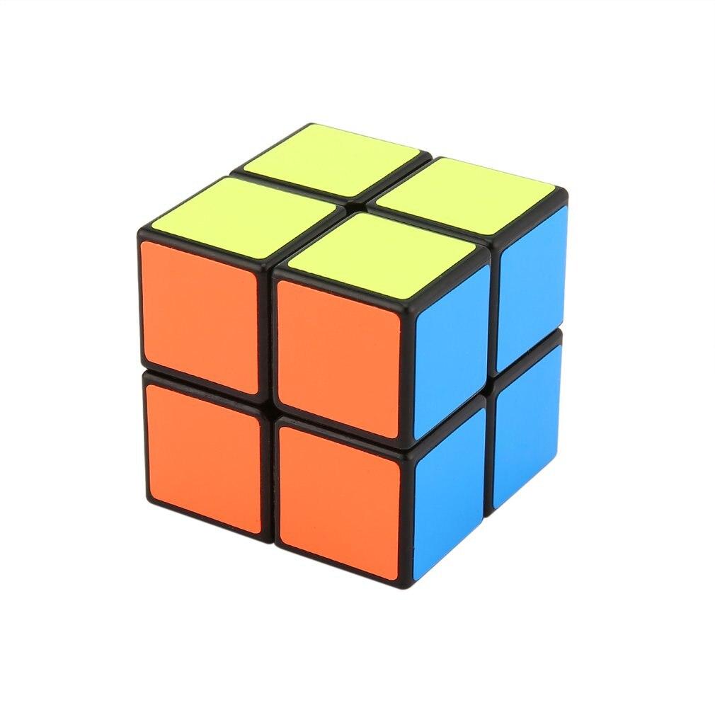 Haute qualité 2x2x2 Magics Cubes Puzzle vitesse défi cadeaux apprentissage et éducation jouets miroir magique Cube Antistress cadeau