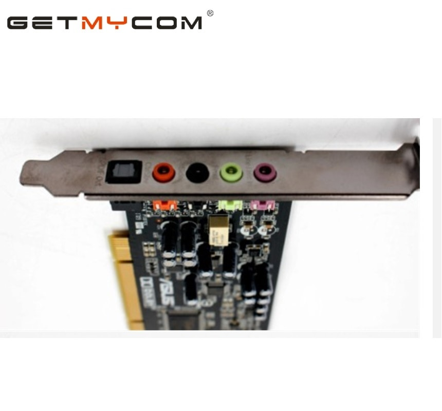 Getmycom Original para ASUS Win10 XONAR DG PCI 5,1 tarjeta de sonido...