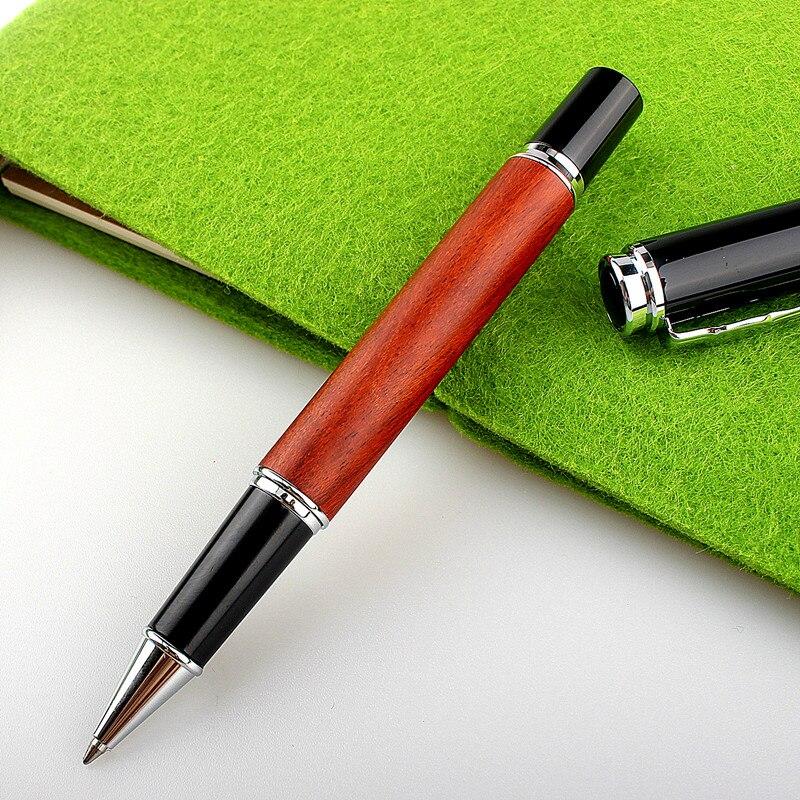 Jinhao 8802 Высококачественная деревянная шариковая ручка, товары для бизнеса и школы, популярная металлическая Роскошная подарочная ручка для ...
