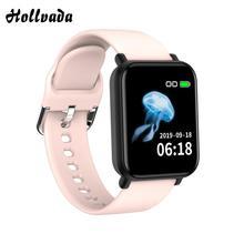 New R16 Smart Watch Waterproof Sports Pedometer watch Fitness Tracker Heart Rate Blood Pressure Monitor Men Woman SmartWatch