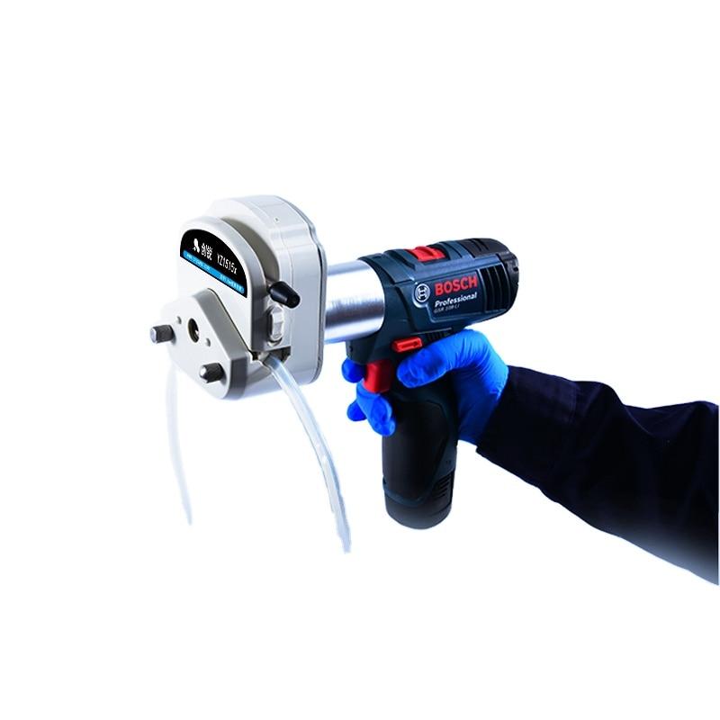 Portable Battery Powered Sampling Peristaltic Pump Outdoor Sampling Pump enlarge