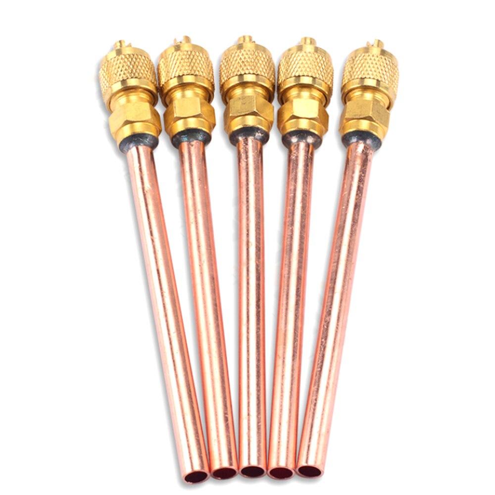 10 шт., медные шланговые клапаны 6 мм